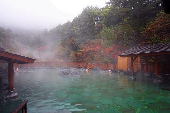 autumn color report 2009  kusatsu onsen