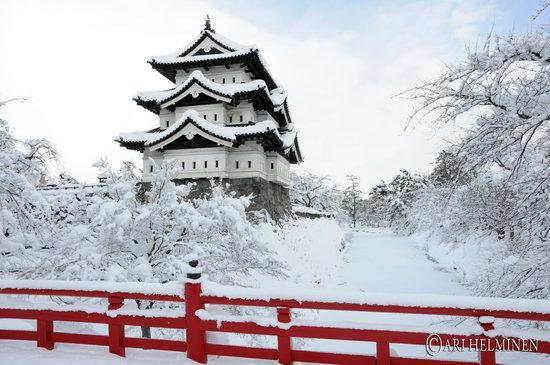 Хиросаки зимой