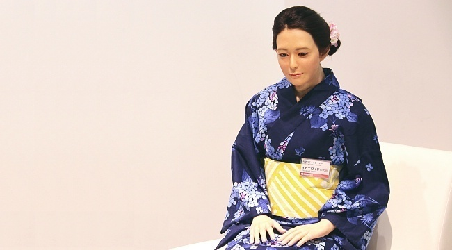 """japanese dating robots A chinese artificial intelligence engineer has given up on the search for love and """"married"""" a robot he built himself zheng jiajia, 31, decided to commit after failing to find a human spouse, his friend told qianjiang evening news."""