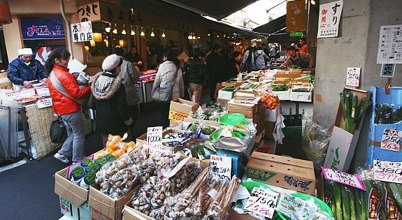 Tokyo travel tsukiji fish market for Tsukiji fish market