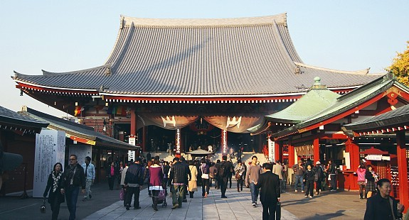 Tokyo Travel: Sensoji (Asakusa Kannon Temple)