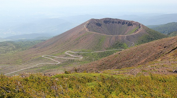 Azuma Mountains•			Volcano in Fukushima	