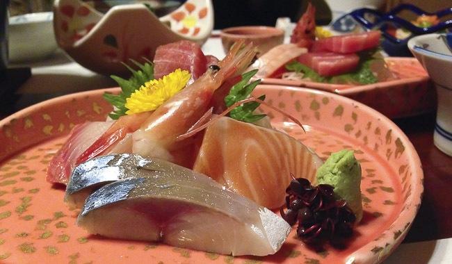 type of sashimi