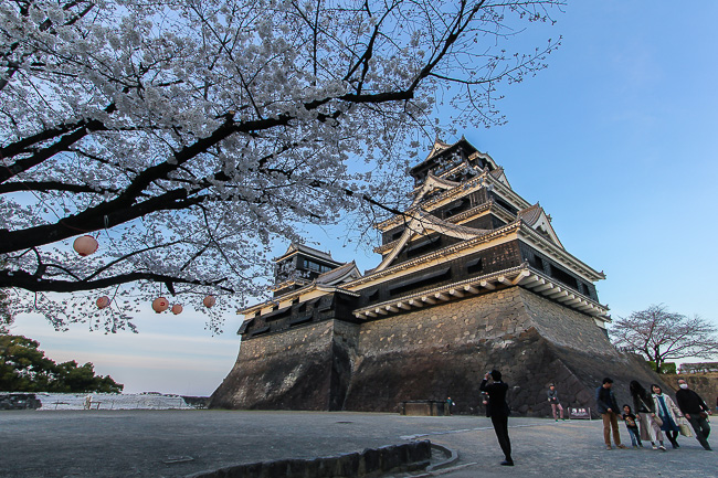 after yesterdays report in tokyo where the cherry blossoms were just starting to open i headed to kyushu today where the opening of the first blossoms