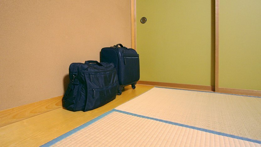 1f07a8829f7 Some ryokan prefer that luggage is not placed onto tatami mats