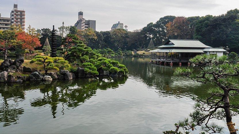 Tokyo Travel Kiyosumi Teien Kiyosumi Gardens