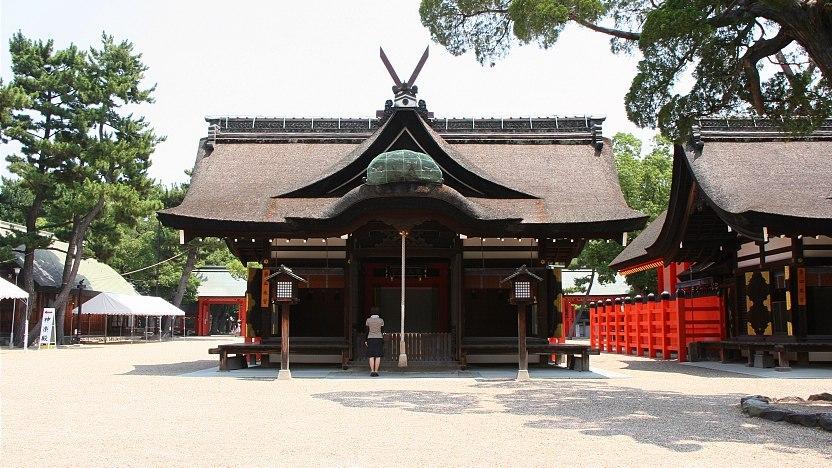 Image result for Sumiyoshi Taisha osaka