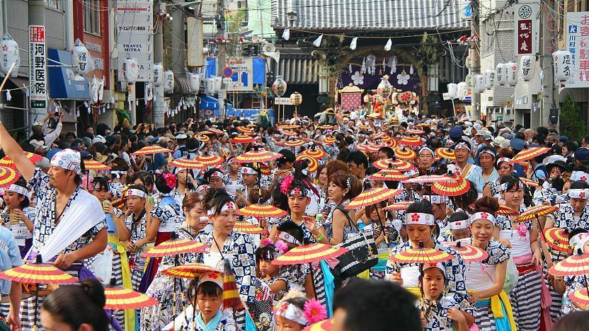 Osaka Travel: Tenjin Festival (Tenjin Matsuri)