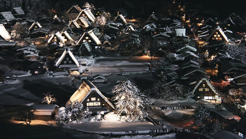 Shirakawa-go and Gokayama Travel: Winter Light-Up
