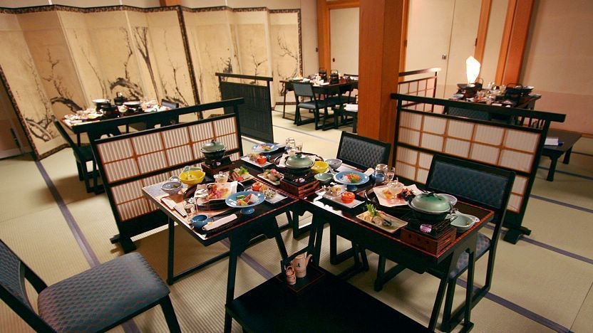 How to Stay at a Ryokan: Dinner