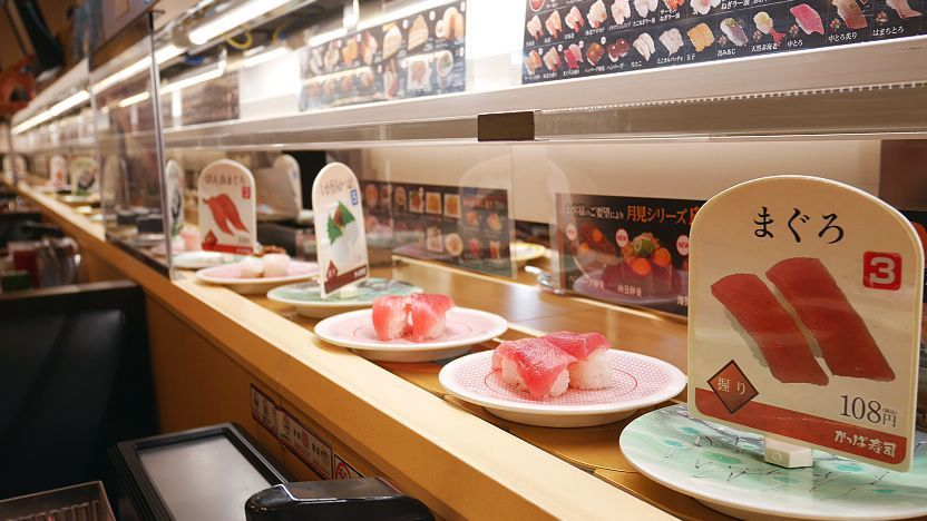 Kaitenzushi Conveyor Belt Sushi Restaurants There are 218 sushi station for sale on etsy, and they cost $18.75 on average. kaitenzushi conveyor belt sushi