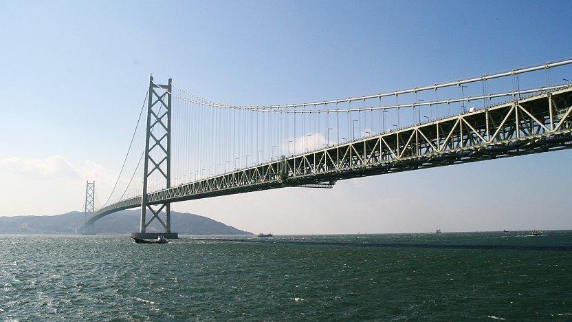 Kobe Travel: Akashi Kaikyo Bridge