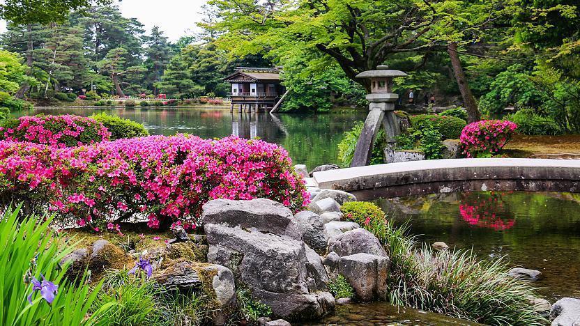 Kanazawa Travel Kenrokuen Garden