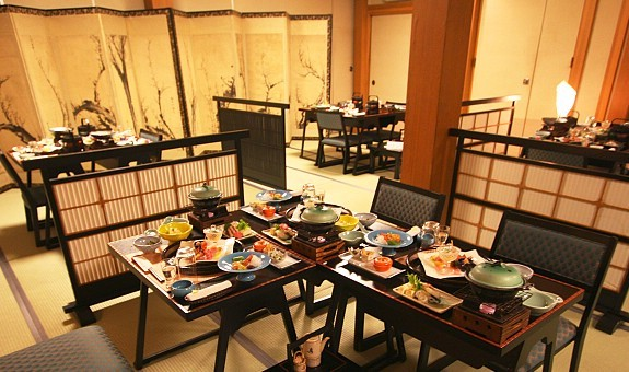 Japanese Dinner Table how to stay at a ryokan: dinner