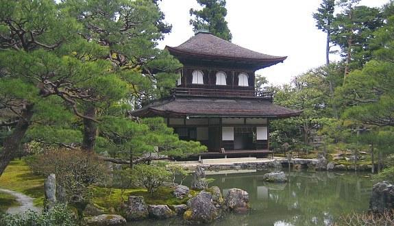 ginkakuji silver pavilion kyoto jepang