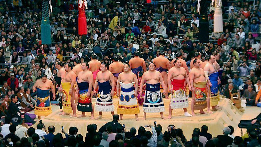 Japanese Big Round Asses
