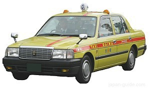 Japanese taxis