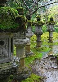 Landscape Gardens japanese gardens: garden elements