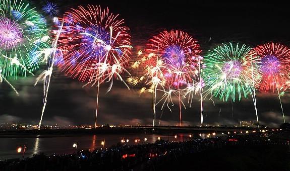 Fireworks In Japan Hanabi