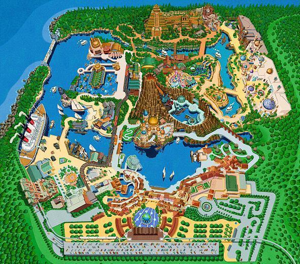 Tokyo Disney Resort Guide Tokyo Disneysea