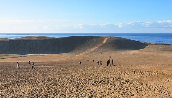 Image result for Tottori Sand Dunes