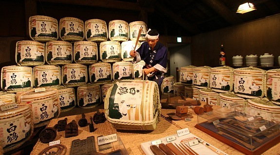 7dfd1f0da531 Sake was commonly stored in wooden casks in the past