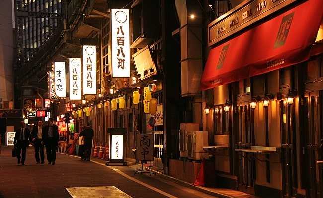 Is Street Food Open At Night Tokyo