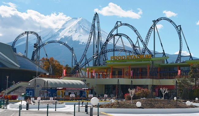 Image result for fuji q highland