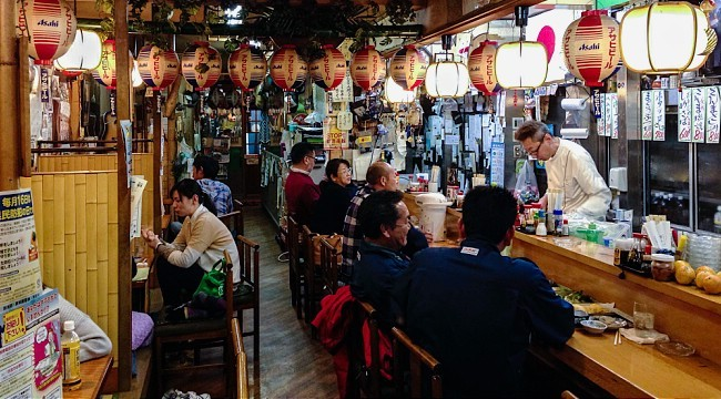 Izakaya japanese drinking restaurants for Food bar drinking game