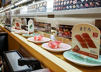 Kaitenzushi Conveyor Belt Sushi Restaurants